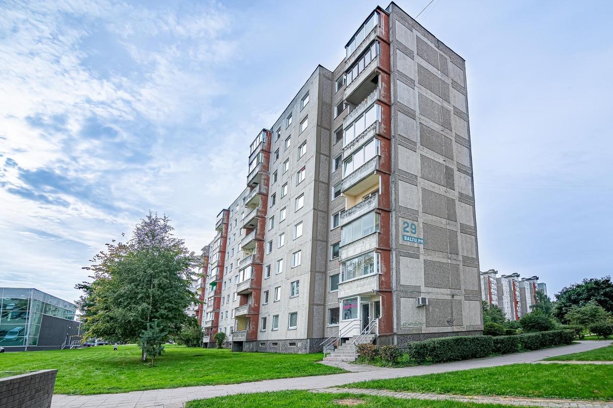 Parduodamas butas Baltų pr. 29, Šilainiuose, Kaune, 74.64 kv.m ploto, 3...